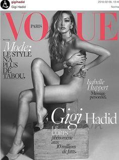 Gigi Hadid portada Vogue