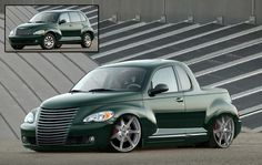 PT Cruiser - Google Search Small Pickup Trucks, Pickup Car, Chrysler Pt Cruiser, Pt Cruiser Accessories, Bmw X5 E53, Cruiser Boards, Chrysler Imperial, Smart Car, Sweet Cars