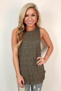"""The """"Ladies Night in Time Square Tank"""" is the perfect tank for summer nights on the town!"""
