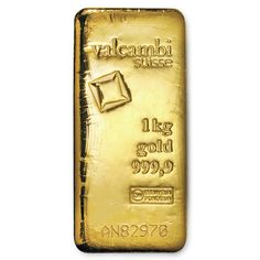1000 gram Gold Bar - Valcambi (Cast w/Assay) | goldankauf-haeger.de