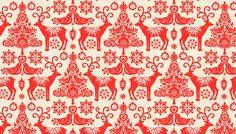background scandinavian christmas art - Google Search