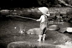gone fish'n...take time to slow down, relax, go fishing with your children & grandchildren. ..