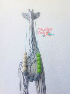 Teething Necklace! The Chick Beads