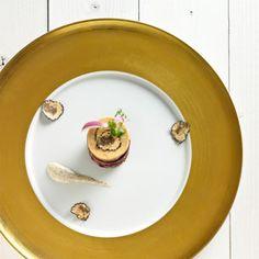 #016:Confit de canard met rode biet, eendenlever en truffelmayonaise - Maison van den Boer