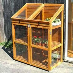 """Receive wonderful pointers on """"greenhouse plans"""". They are actually accessible for you on our web site. Diy Greenhouse Plans, Small Greenhouse, Greenhouse Gardening, Pallet Greenhouse, Greenhouse Wedding, Veg Garden, Vegetable Garden Design, Garden Beds, Wooden Greenhouses"""