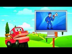 Recursos infantil: Nuevo vídeo: Las Profesiones (Barney el Camión)