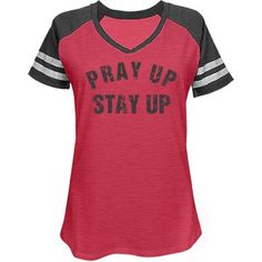 PRAY UP STAY UP  | PRAY UP STAY UP by Klued In. Distress Dark Grey Text.