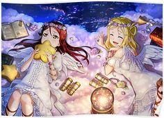 re 405451 angel dress heels love_live! Yandere, Kawaii Cute, Kawaii Anime, Anime Love, Love Live Nozomi, Mari Ohara, Kamigami No Asobi, Idol, Festival Image