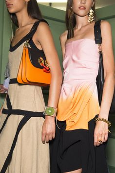Go behind the scenes at London Fashion Week