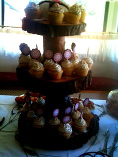 Cupcakes/Stand.