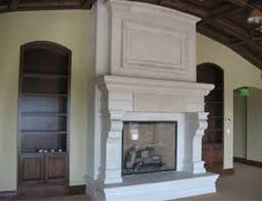 big fireplace mantels - Google Search