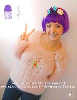 Kawaii lolita japan fashion embroidered embroidery patch knit jumper pink www.ebay.co.uk/usr/mallardandbearcollection