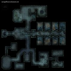 clean_abandoned_prison_dungeon_battlemap_roll20_by_savingthrower-darqy12.jpg (2160×2160)