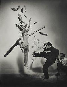 Halsman Dalì – Nude Popcorn, 1949   Barbara Picci