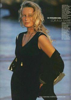 Vogue Girl's Content - Page 240 Fashion Mag, 80s Fashion, Fashion History, Editorial Fashion, Fashion Models, Fashion Beauty, Vintage Fashion, Fashion Looks, Estelle Lefébure