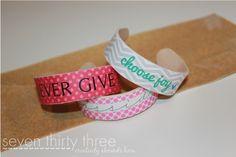 DIY Popsicle Stick Bracelets Tutorial