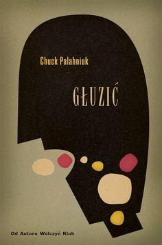 Polish book cover for Choke by Elena Giavaldi