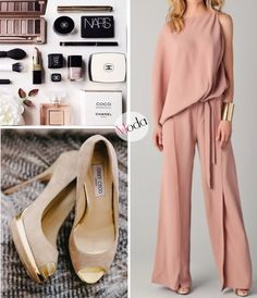 Moda - Un mono color durazno