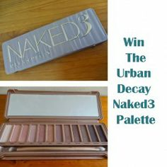 Win Urban Decay #Naked3 #Palette ^_^ http://www.pintalabios.info/en/fashion_giveaways/view/en/1863 #International #MakeUp #bbloggers #Giveaway