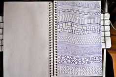 LuAnn Kessi: Sketch Book......Divide and Conquer