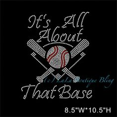 Hey, I found this really awesome Etsy listing at https://www.etsy.com/listing/229742318/its-all-about-that-base-baseball-iron-on