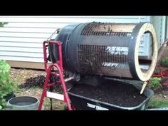 DIY Compost Sifter - Potting Soil Mixer - YouTube
