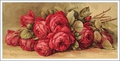 Paul de Longpre...Red Roses