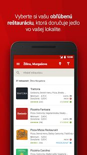 Bistro.sk - donáška jedla – miniatúra snímky obrazovky