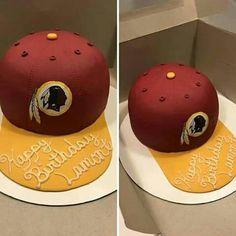 Redskins cake                                                                                                                                                      More