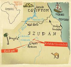 Map of Sudan - Lehel Kovacs
