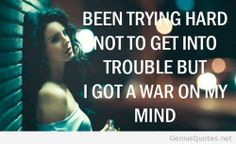 Mind war quote for girls