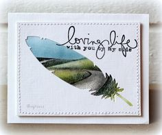 WT383 With you by my side by Biggan - Cards and Paper Crafts at Splitcoaststampers