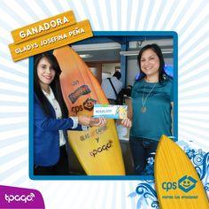 ¡Felicitamos a la Sra. Gladys Josefina Peña Batista! Pagó con #tPago y resultó ganadora de RD$25,000 en consumo con el Personal Shopper de CPS.