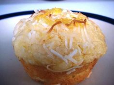 Lemon Syrup and Coconut Muffins