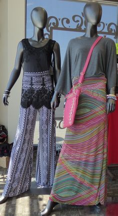 Tammy has been shopping AGAIN! Please come in out of the Heat and check out the New Maxi Skirts/Palazzo pants/Lace tops.