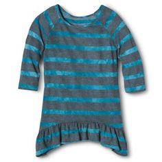 Circo® Girls' Tunic Sweater - Turquoise