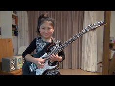 "Polyphia ""Aviator"" cover / Li-sa-X (Japanese 10 year old girl) - YouTube"