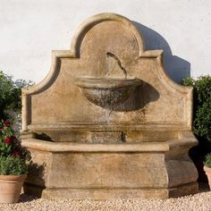 Buy Andalusia Wall Fountain online with free shipping from thegardengates.com