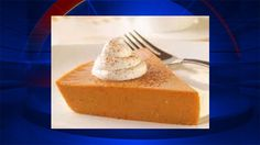 Lighten up your holidays: Crust-less pumpkin pie