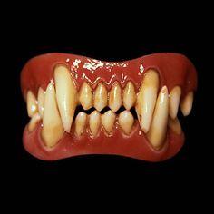 wolfen wolf fangs costume teeth