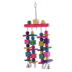 New Arrival Parrot Birds Toys Plaything Toy Large Wooden Rope Cave Aviary Ladder Swings Colorful Pet Bird Accessories With Bells $20.99   #styles #sweet #fashion #beautiful #streetstyle #instalike #love #iwant #pretty #shopping #stylish #swag #instastyle #model #ootd