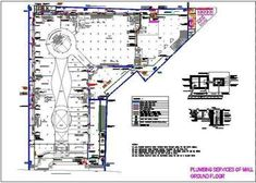 Toilet Plumbing Detail with Pipes and fittings - Autocad DWG Pvc Pipe Fittings, Plumbing Pipe, Staircase Railing Design, Plumbing Drawing, Modern Drawing, Guest Toilet, Metal Railings, Vanity Design, Factory Design