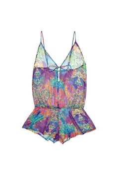 """Part lingerie, part pyjamas, part beachwear, this Rio playsuit by Asceno By Beautiful Bottoms is inspired by the part of the world where having a beautiful bottom is all important, Brazil. And, obviously, we wouldn't say no, £115 from [link url=""""http://fulldisclosureluxe.com/collections/bodies-and-playsuits/products/rio-silk-playsuit""""]FullDisclosureLuxe.com[/link]"""