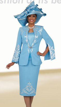 Church Suits by Ben Marc - Fall 2019 Church Suits And Hats, Women Church Suits, Church Attire, Church Outfits, Suits For Women, Clothes For Women, Church Hats, Cool Outfits, Fashion Outfits