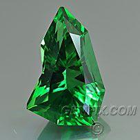 Chrome Tourmaline, American Cut Gemstones