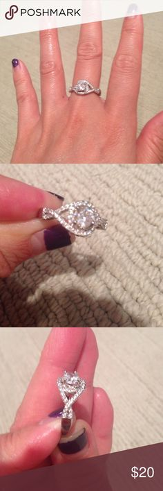 Beautifully sparkly Cocktail ring! Sz 6 Brand new never worn. Super pretty cocktail shiny diamond ring with CZ diamonds 💎   (Kendra Scott Tiffany & co forever 21 express Pandora)  Brand New Beautiful Ring!!!!  Promise  Engagement  Wedding  Anniversary  Bridal Prom Proposal Graduation  Size 6  ❤❤❤❤❤CHECK OUT MY OTHER LISTINGS❤❤❤❤❤ Urban Outfitters Jewelry Rings
