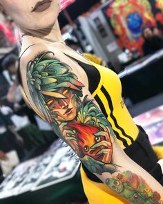 Check out Legendary Tattoo Studio's recent work. You will also called it as the best tattoo shop as it is the home of Isnard Barbosa. Movie Tattoos, Cute Tattoos, Beautiful Tattoos, Body Art Tattoos, Geek Tattoos, Skull Tattoos, Foot Tattoos, Tatoos, Tatuaje Studio Ghibli