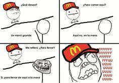 meme en el mcdonals