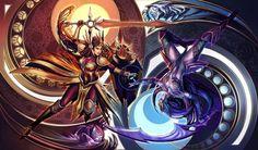 Leona\Diana - League of Legends