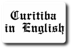 Logo do jornal Curitiba in English